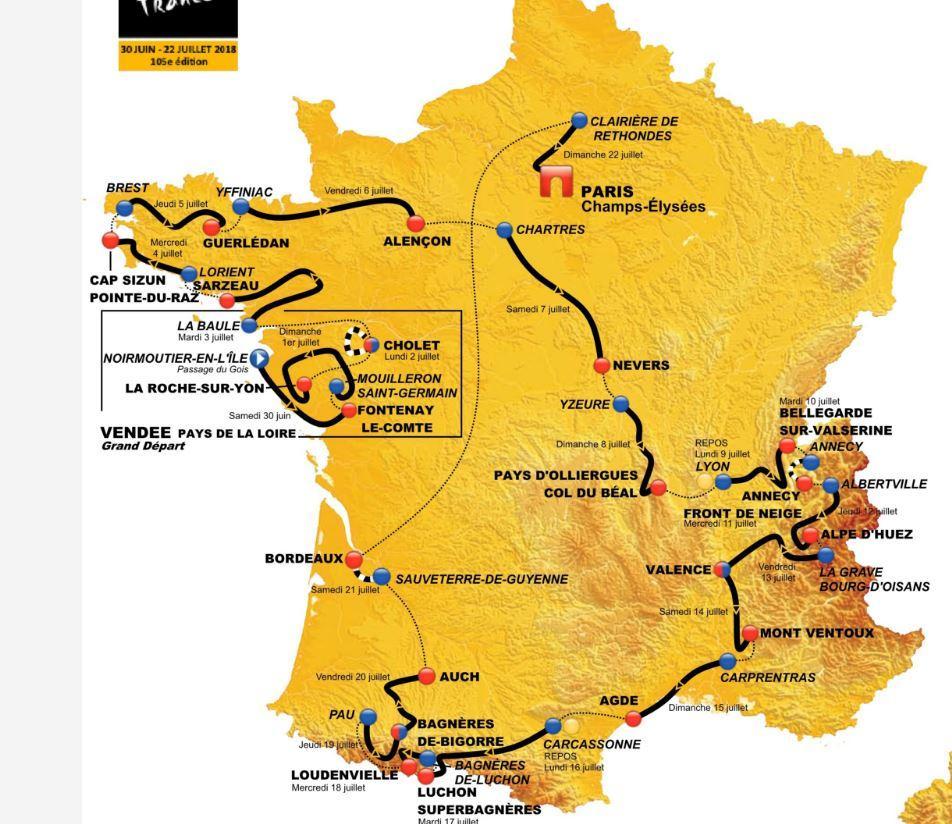 Tour de France - Cyclismepro.com