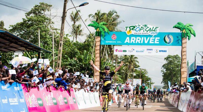 Tropicale Amissa Bongo étape 1: Niccolò Bonifazio vainqueur dès sa première course sous le maillot Direct Energie