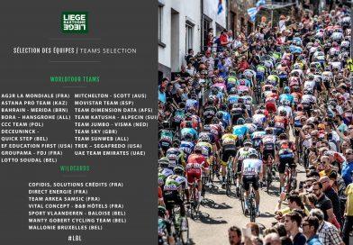 Liège-Bastogne-Liège: le parcours et les invitations