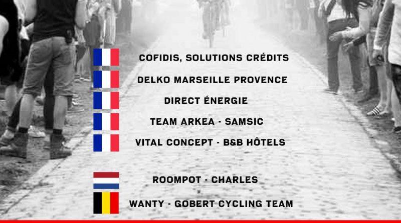ASO dévoile les invitations pour Paris-Roubaix