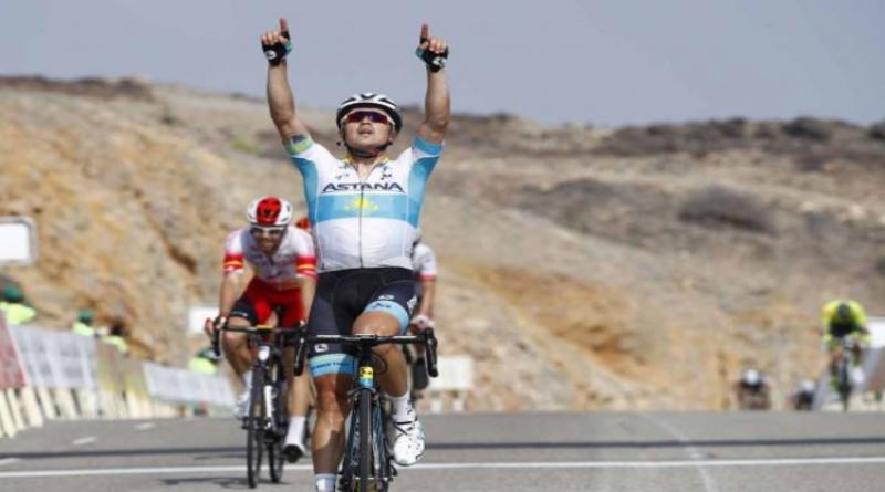 Tour d'Oman (2.HC) étape 3: Alexey Lutsenko double la mise et prend les commandes du général
