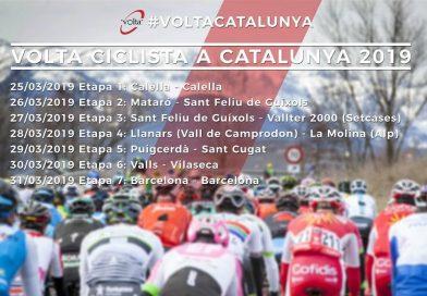 Tour de Catalogne: les engagés