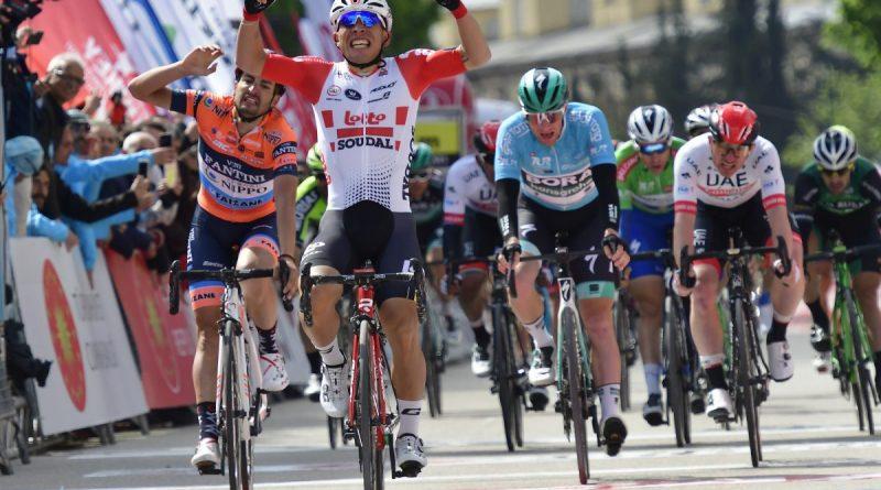 Tour de Turquie étape 4: deuxième victoire de la saison pour Caleb Ewan