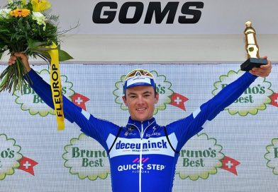 Tour de Suisse étape 8: Yves Lampaert remporte le contre la montre, Egan Bernal toujours leader à la veille de l'arrivée