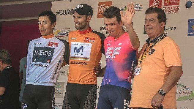 Alejandro Valverde conserve son titre sur la Route d'Occitanie, la dernière étape pour Arnaud Démare