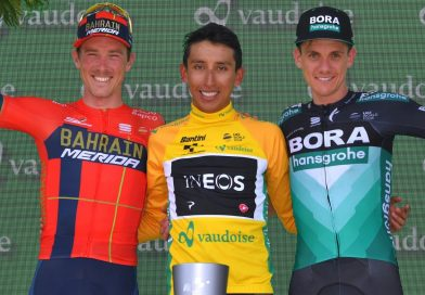 Egan Bernal remporte le Tour de Suisse, la neuvième et dernière étape pour Hugh Carthy