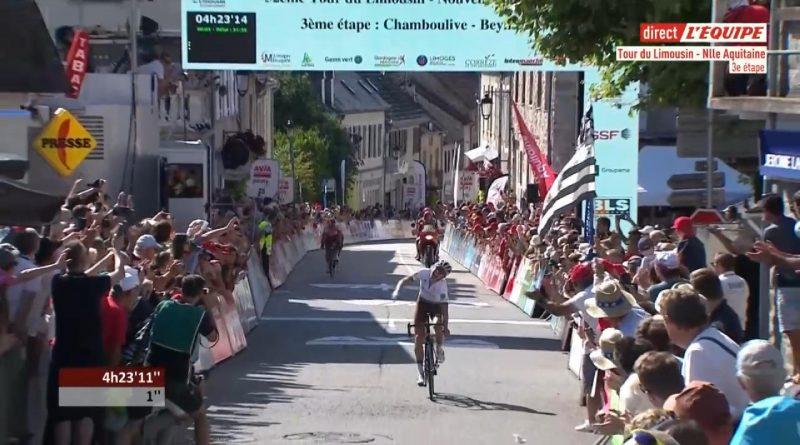 Tour du Limousin étape 3: Benoît Cosnefroy fait coup double