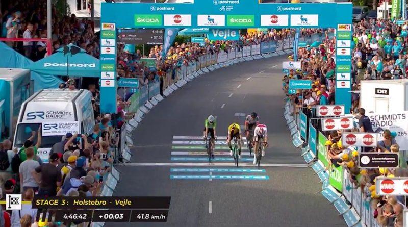Tour du Danemark étape 3: Lasse Norman Hansen s'impose, Niklas Larsen nouveau leader