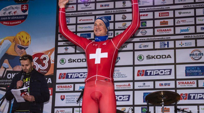 Tour de Slovaquie étape 2: victorieux du contre la montre, Stefan Küng prend les commandes du général
