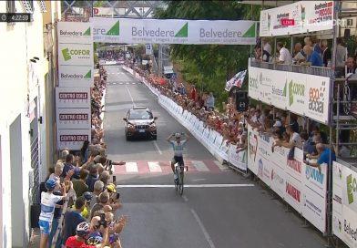 Au terme d'une course parfaitement maitrisée, Alexey Lutsenko remporte en solitaire la Coppa Sabatini