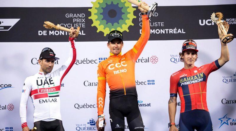 Grand Prix de Montréal: victoire de Greg Van Avermaet